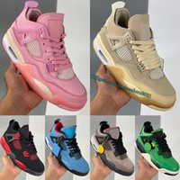 Sports Fashion 4s Basketball Shoes Top Quality Manila Fire Red Thunder Taupe Haze Raptors Drake OVO Lightning Men Women Design Outdoors Trainers Sneakers