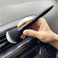 Car Sponge High Quality Cleaning Brush Super Soft Auto Interior Detail Electrostatic Dust Remove Tools Styling 18cm