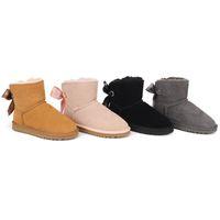 2021 Hot Chegada Mulheres Botas de Neve Moda Inverno Boot Classic Mini Tornozelo Senhoras Curtas Meninas Botinhas Femininas Castanhas Castanhas Castanhas Azul Nos 5-10