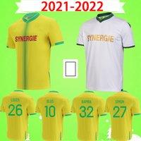 Mailleot de foot 21 22 fc نانت لكرة القدم الفانيلة home بعيدا ثالث 2021 2022 لوزا بامبا سيمون كولو مواني blas coulibaly جيرسي كرة القدم قمصان الزي الرسمي الأخضر