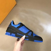 Lüks Trainer Sneakers Moda Marka Erkekler Tasarımcı Ayakkabı Hakiki Deri Sneaker Boyutu 35-40 RX611