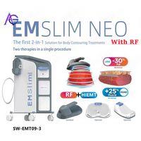 2021 EMSLIM RF HI-EMT Sculpt Machine EMS الكهرومغناطيسية تحفيز العضلات الدهون حرق نحت معدات التجميل Hiemt (qem logo)