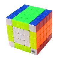 Original Yuxin Cloud Cubing Speed Neo 5x5x5 Cubo Magico Puzzle 5x5 Magic Cube educativo para niños Boy Office Gift Toy L0226