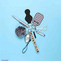 Women Alarm Personal Keychain Set Self-defense Security for GirlsYZ0U