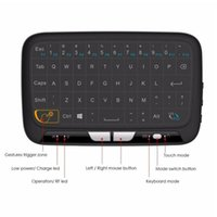 Keyboards EastVita For PC Android Tv Box PS3 Wireless Keyboard 2.4Ghz Mini Full Screen Mouse Touchpad Combo
