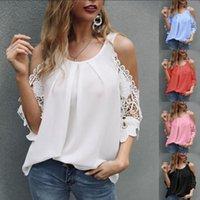 Women's T-Shirt Casual Loose Shirts Women 2021 Summer Oversized Tops Style Sling Hollow Sleeve Leisure Shirt
