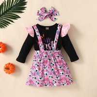 Girl's Dresses Baby Girls Halloween Dress Suit For Novelty Costume Summer Princess Special Clothes