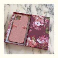 مع مربع G G Luxury Designer Case Case Case لفون 7 8 Plus for iPhone X XR XS Max Max for iPhone 12 11 12 Pro 11 12 Pro Max