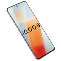"Original Vivo IQOO 8 5G Mobile Phone 12GB RAM 256GB ROM Snapdragon 888 Octa Core 48MP AF OTG NFC Android 6.56"" AMOLED Full Screen Fingerprint ID Face Wake Smart Cell Phone"