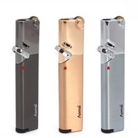Aomai Jet 부탄 가벼운 토치 플린트 담배 재충전 가능한 금속 단일 토치 불꽃 시가 라이터 흡연자 AM365