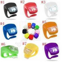 Outdoor-Radfahren-Frosch-Lampe Silikon-Taillight-tot-fliege Mountainbike-Ausrüstung Zubehör Fahrradlampe mehrfarbige Heißradlampe