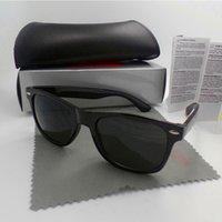 Yüksek Kaliteli Moda Erkekler Güneş Gözlüğü UV Koruma Plaj Vintage Kadın Güneş Gözlükleri Retro Gözlük Paket ile