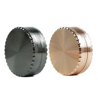 Grinder Metal Smoking Hookahs Tobacco Herb Hand Muller Magnetic with Sifter smoke cigarette detector grinding 2.4''*0.9''