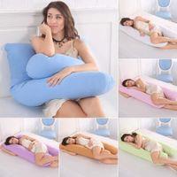Подушка для беременности Подушка для беременных для беременных для беременных Удобные подушки U-образных форм Длинные боковые спальные подушки SH190925