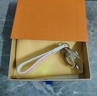 Fashion Charm Keychain Latest Style Gradient Color Keychain Colorful Bag Pendant Car Keychain Letter Accessories Supply