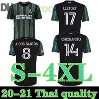 S-4XL 2021- 2022 mls la galaxy soccer جيرسي قمصان كرة القدم 2021 2022 xxxxl la galaxy chicharito pavon الفانيلة الرجال higuain