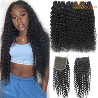 Brazilian Kinky Curly With 4x4 Lace Closure Brazilian Curly ...