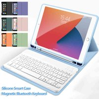 Magnetic Keyboard Case for 2021 IPad Pro 12.9 11 10.5 9.7 inch with Bluetooth iPad Air 4 3 2 1 10.9 10.2 Cover