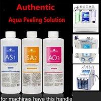 أكوا تقشير الحل 400 مل لكل زجاجة هيدرا جلدي الوجه نظيفة الوجه التطهير البثرة الصادرات السائل rega AS1 SA2 AO3