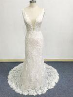 Luxury wedding dress China new autumn bride gown sweetheart neckline beautiful bridal veil Plus Size vintage 3D Floral Applique Lace sweep train custom design