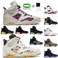 Air Jordan 4 6 Retro  Jordans 4 6 Travis Scott 6s 2021 DMP Jumpman Chaussures Femmes Hommes Basketball Hare Jordan Retro Tech Chrome Quai OG 54 Formateurs Chaussures de sport