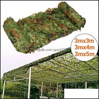 Tents Hiking Sports & Outdoorstents And Shelters X X4M X5M Hunting Camouflage Nets Fishing Shelter E Netting Woodland Cam Sun Shelter1 Drop