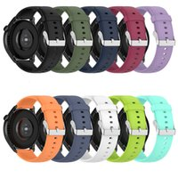 22mm Band für Huawei Uhr 3 Weiches Silikon-Armband für Huawei-Uhr 3Pro / GT 2E / GT2 Pro Universal-Armband für Galaxy-Uhr 3 / Ehre-Uhr / Huami Amazfit Stratos 3