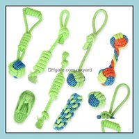 Chews Home & Gardeninteractive Dog Molar Washable Chew Toy Cotton Rope Material Puppy Teething Pet Toys Pets Supplies Drop Delivery 2021 3Fw