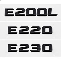 Bad Bad Badge Emblema Badge Lettere Chrome per Mercedes Benz E-Class E220 E200L E230 W110 W114 W115 W123 W114 W210 W211 W212 W213