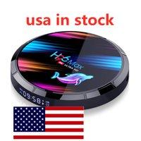USA En stock H96 MAX X3 Android 9,0 TV Box AMLOGIC S905X3 4GB 128GB 2.4G 5G WIFI BT 1000M LAN 8K 8K