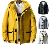 Uomo Down Parkas Mens Giacca Invernale Cappotto con cappuccio caldo per Ski Mountain Outdoor Giacche spesse PUFFER PARCHA Cappotti termali antivento