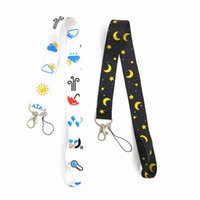 Cartoon hot Leopard flame Camouflage neck Lanyard Cell Phone PDA Key ID Holder long strap wholesale gift