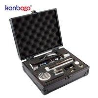 Hızlı Teslimat Kanboro EKBE Taşınabilir Balmumu Buharlaştırıcı Kiti İmparatoru Kontrol Cihazı Dab Rig E Giftbox Ile E Dabber Mekanik Mod Atomizer Başlangıç Kitleri