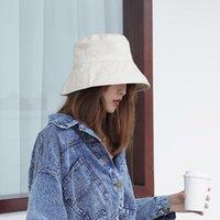Breite Krempe Hüte Modern Solide Farbe Eimer Hut Panama Flachkappen Frauen Fischer Wanderer Klettern Angeln Außenschutz