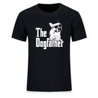 الكلب كلب أبي الفرنسية البلدغ مضحك القمصان الرجال الصيف القطن المتناثرة قصيرة الأكمام س الرقبة الشارع الشهير قمم eu حجم 210707