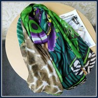 Scarves Spain Foreign Trade Lady Color National Style Long Peacock Feather Design Scarf Shawl Sunshade Warm Silk Neck