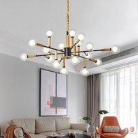 멋진 펜던트 램프 아이언 나무 버블 램프 G9 홀더 led 매달려 유형 정착물 객실 침실 식사 룸 레스토랑 데코
