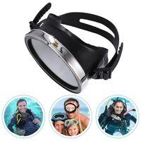 Diving Masks Goggles Good Sealing Anti-fog Tempered Glass Large Frame Waterproof Fisherman Swimming Snorkeling Equipment Mask