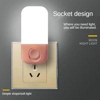 السلاسل الإبداعية الغريبة المكونات في التبديل LED موفرة للطاقة مصباح صغير مصباح غرفة نوم إضاءة ذكية