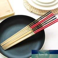 1 Paar super langer Bambus-Essstäbchen Kochnudeln Tief gebratener heißer Topf Traditioneller chinesischer Stil Restaurant Home Kitchen Produkte