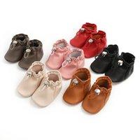 Bébé First Walkers Chaussures Nouveau-né Enfant Chaussures Chaussures Au Prix Mocassins Soft Princess Bottes B6720