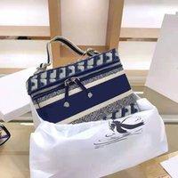 أعلى مطرزة النسيج الفضلات المصممين حقائب محفظة النساء 25 سنتيمتر حقيبة مستحضرات التجميل النسيج نمط غسل حقائب اليد 2021 بالجملة