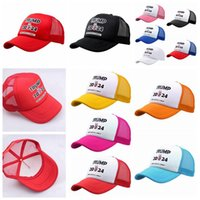 Трамп 2024 Бейсбольные шляпы Президент США Президент Избирательные выборы Caps Capes Храните America Great Maga Mesh Snapbacks Летние козырьки Caps Party Hats