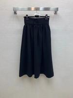 225 2021 Ücretsiz Kargo Marka Aynı Stil Şort Etek Siyah Kayısı Moda Elbise İmparatorluğu Bayan Giysileri Weinish