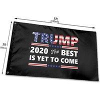 Trump 2020 Das Beste ist das Beste, die noch 3x5 Meter, Polyester-Tuch UV-beständiges Fading-Flagge, mit Messing-Ösen, dauerhaft dauerhaft