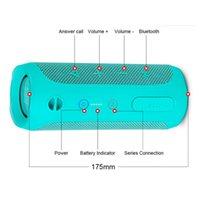 Flip 4 Portable Wireless Bluetooth Speaker Flip4 Outdoor Sports Audio Mini Speakers High Quality