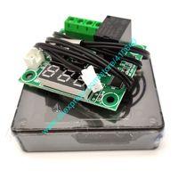 W1209 Водонепроницаемый DC12V Micro Thermostat Высокоточная цифровая цифровая плата Доска Управляющий регулятор температуры с помощью Case-50 до 110
