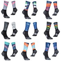 Anti Slip Professional Bike Socks Bicycle Compression Sport Sport Sport Men And Women Street Sport Racing Cycling Calza
