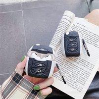 Симпатичные автомобиль Ключ Гарнитура Защита Чехол для Apple Airpods Pro Крышка Силиконовые Наушники Чехол Для AirPod Pro / 2/1 Коробка для наушников Capa