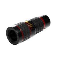 Universal Clipe 20x Telescópio Telescópio HD Telefoto Externo Lente de Substituição de Lente de Substituição 20x Zoom óptico Lente de câmera